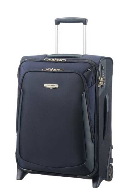 Samsonite Kabinový kufr X-Blade 3.0 Upright EXP 46 l - modrá
