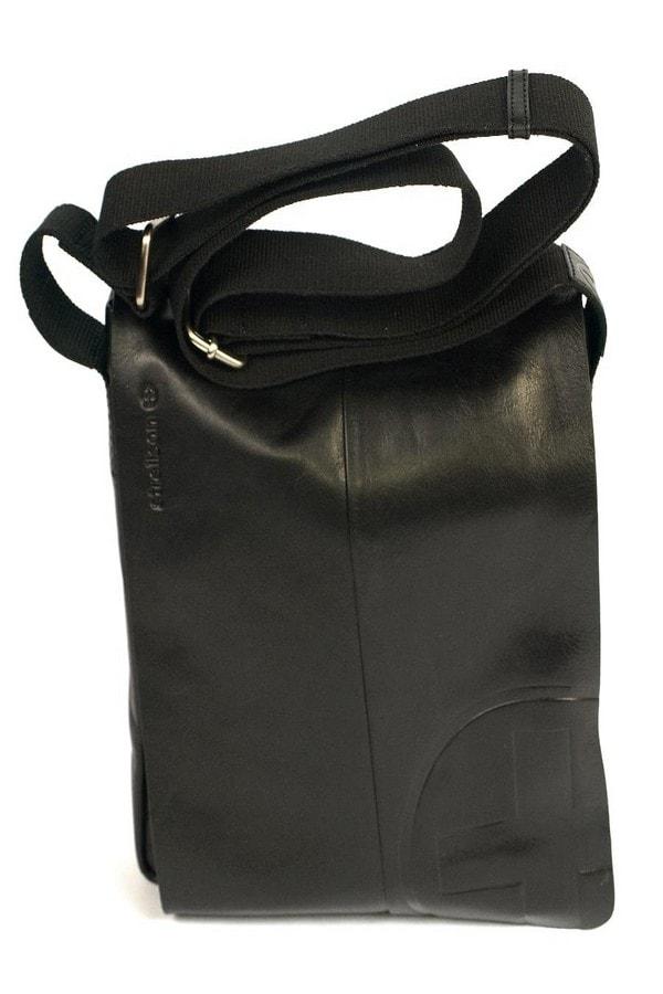Strellson Pánská  kožená taška přes rameno strellson černá 4010000120