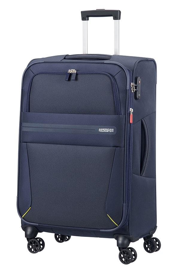 American Tourister Cestovní kufr Summer Voyager Spinner EXP 29G 67,5/76 l - tmavě modrá
