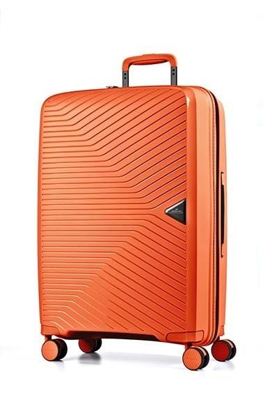 March Cestovní kufr Gotthard 111 l - oranžová