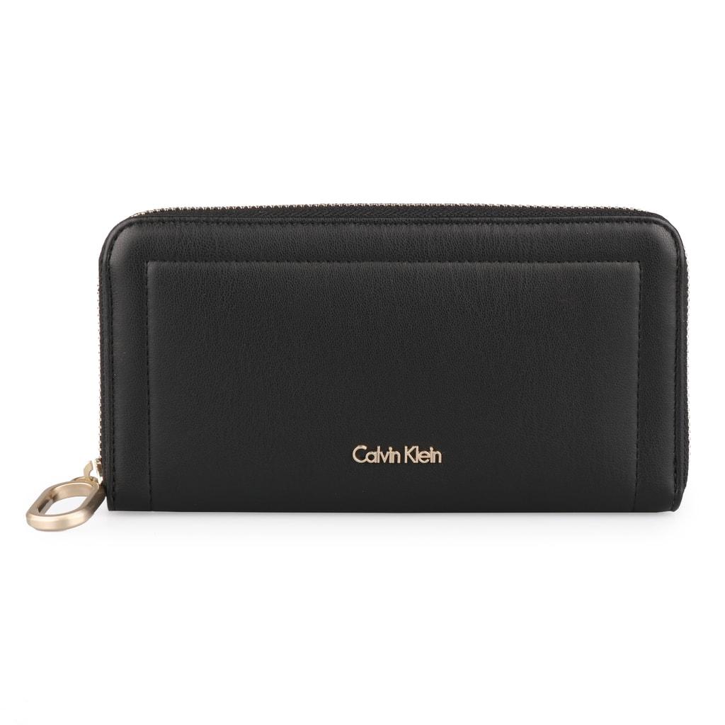 Calvin Klein Dámská peněženka Rev Large Ziparound K60K604020 - černá
