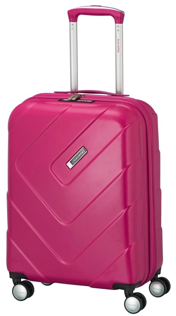 Travelite Kabinový cestovní kufr Kalisto S Pink 40 l