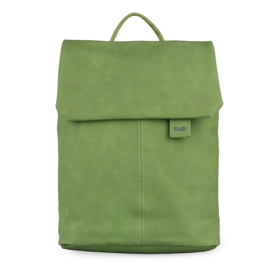 f1b2ffe31c Zwei Dámský batoh Mademoiselle Nubuk MR13 - zelený