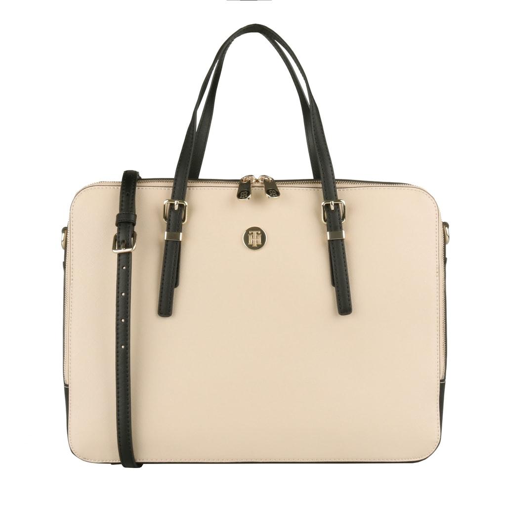 Tommy Hilfiger Dámská taška na notebook Honey AW0AW06485 - béžová 3965bfe15fc