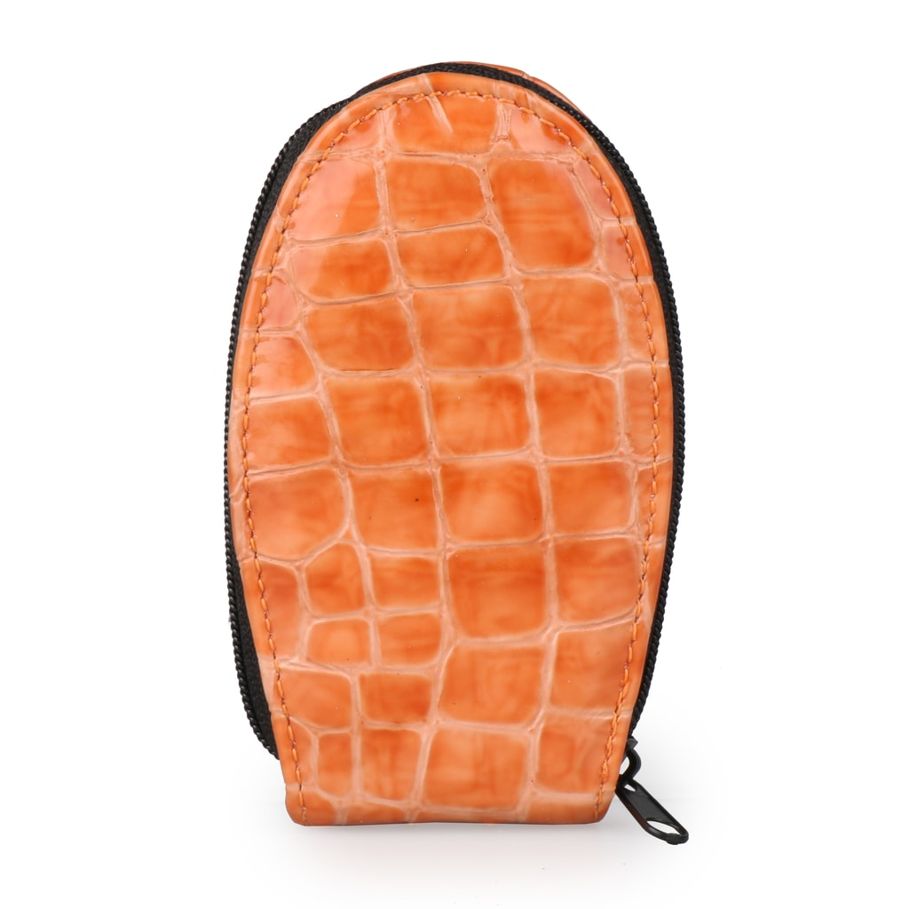 Solingen Kožená sada na manikúru 1601-86 - oranžová