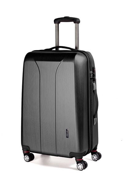March Střední cestovní kufr New carat 76 l - černá