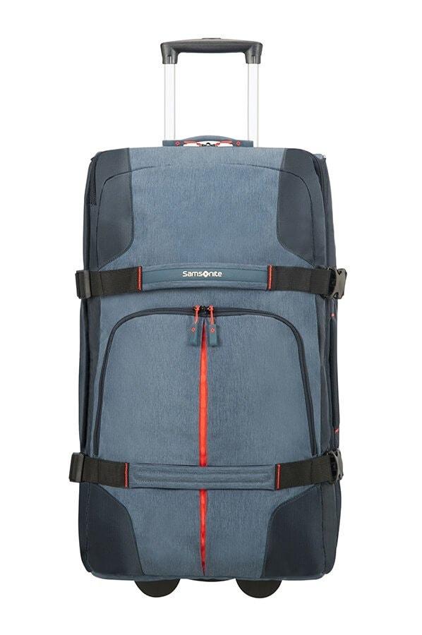 Samsonite Cestovní taška na kolečkách Rewind 72,5 l - modrá