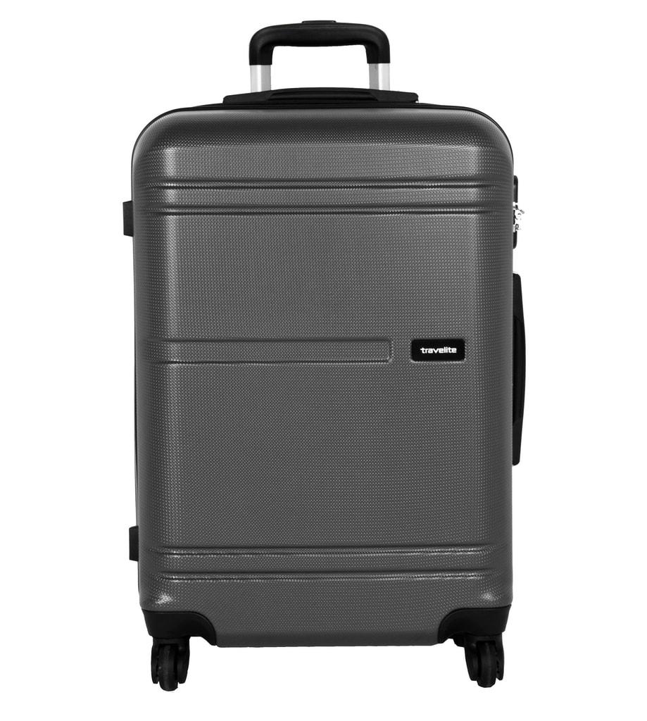 Travelite Cestovní kufr Yamba 4w M Anthracite 62 l