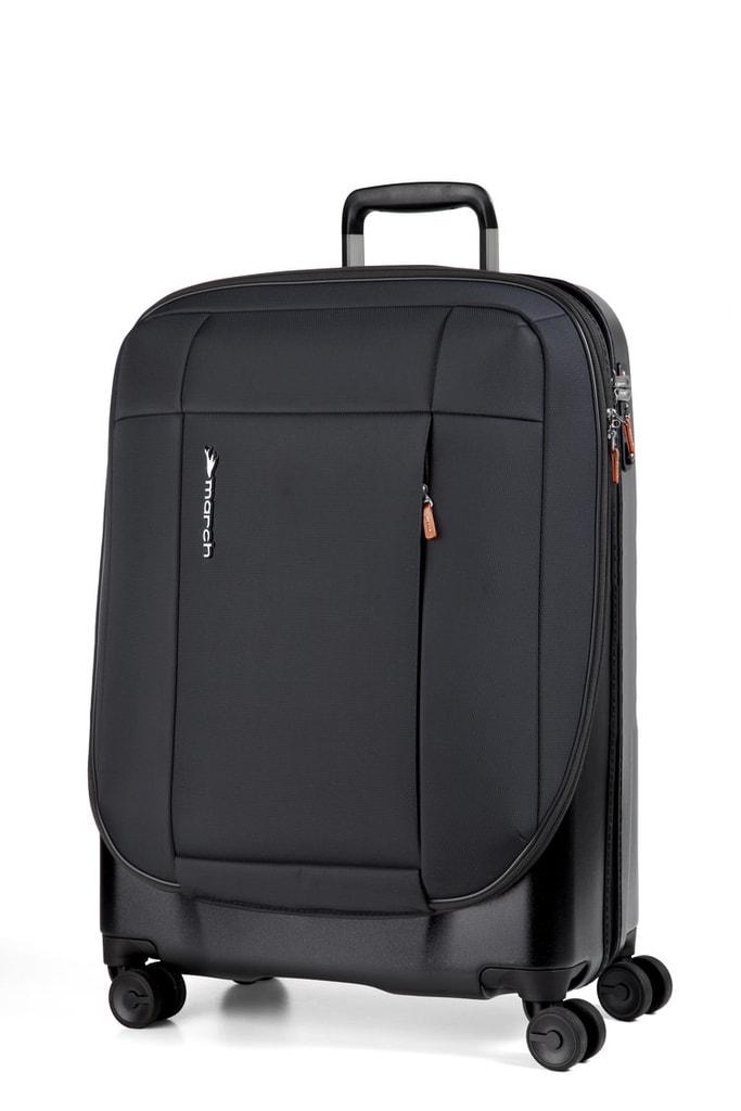 March Kabinový cestovní kufr Phaeton 40 l - černá