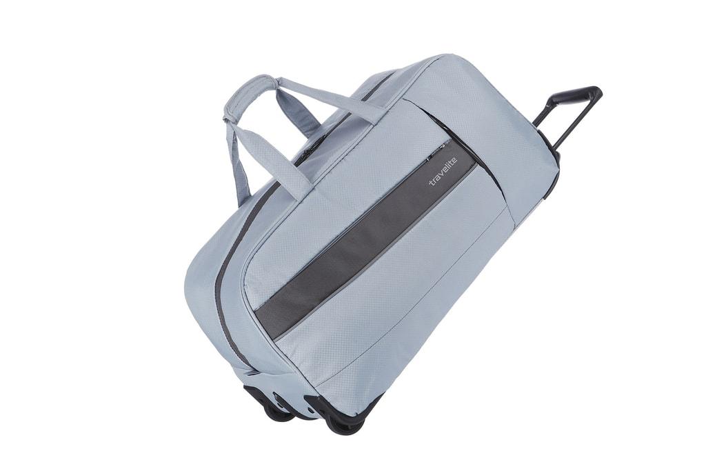 Travelite Cestovní taška Kite 2w Travel Bag Silver 89901-56 68 l