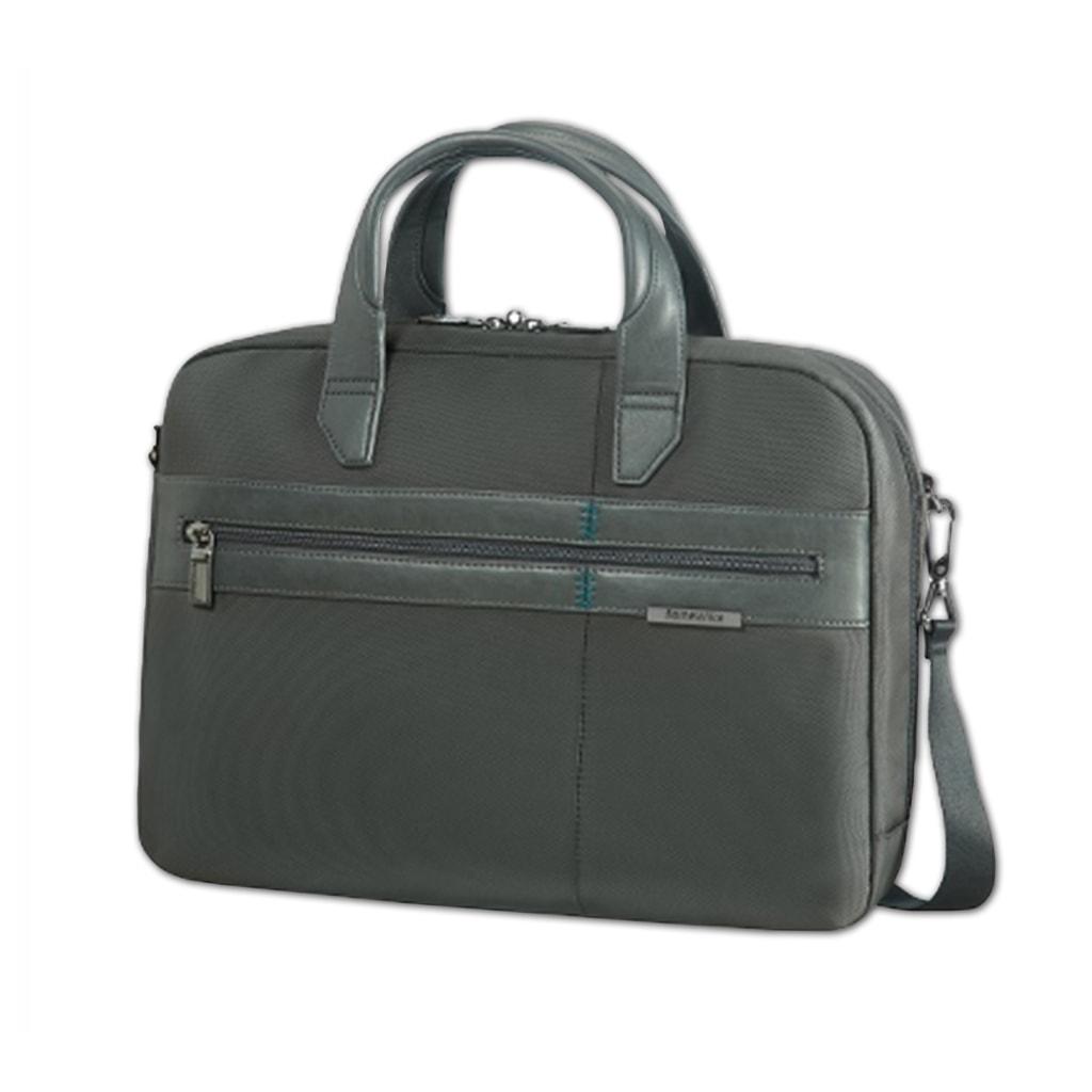 """Samsonite Pánská taška na notebook 14,1"""" Formalite 62N-004 - šedá 62N-004-08"""