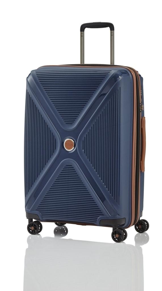 Titan Cestovní skořepinový kufr Paradoxx 4w M 80/88 l
