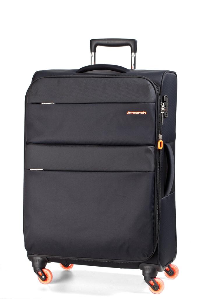 March Kabinový cestovní kufr Elle 34,5 l - černá
