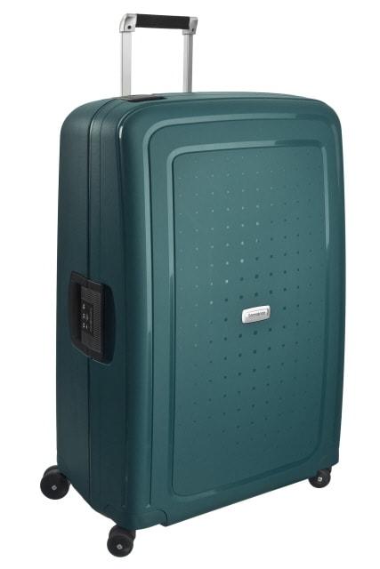 Samsonite Cestovní kufr S'Cure DLX Spinner U44 138 l - zelená