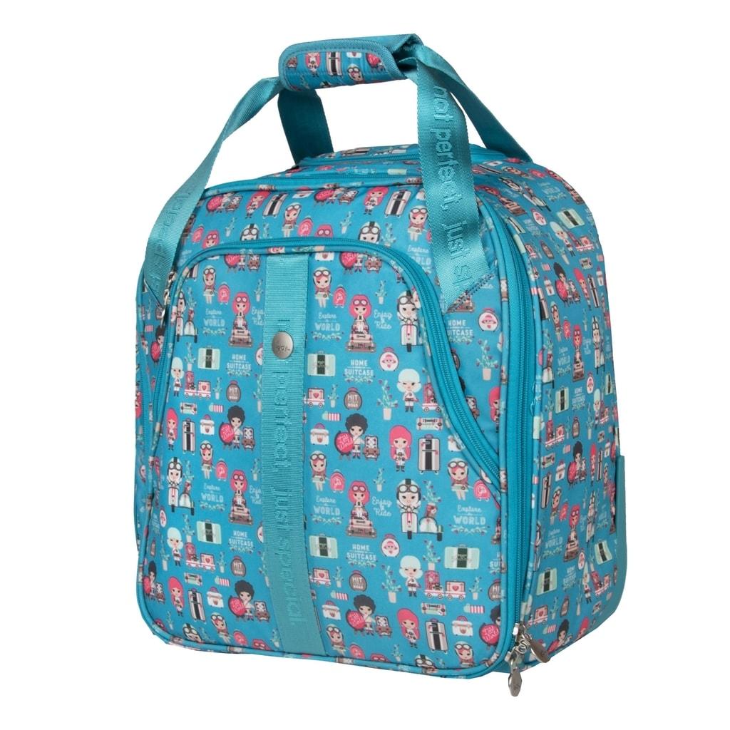 Travelite Textilní kabinový kufr Lil' Ledy 2w S underseater Turquoise 35 l