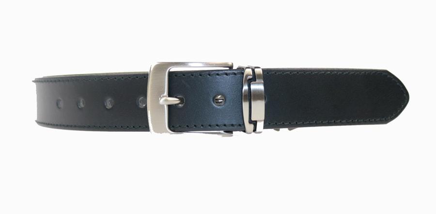 Penny Belts Pánský kožený opasek R1/1, černý