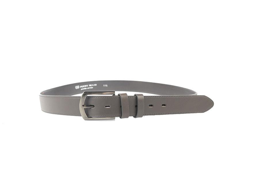 Penny Belts Kožený opasek Penny Belts 35/020/6-šedý
