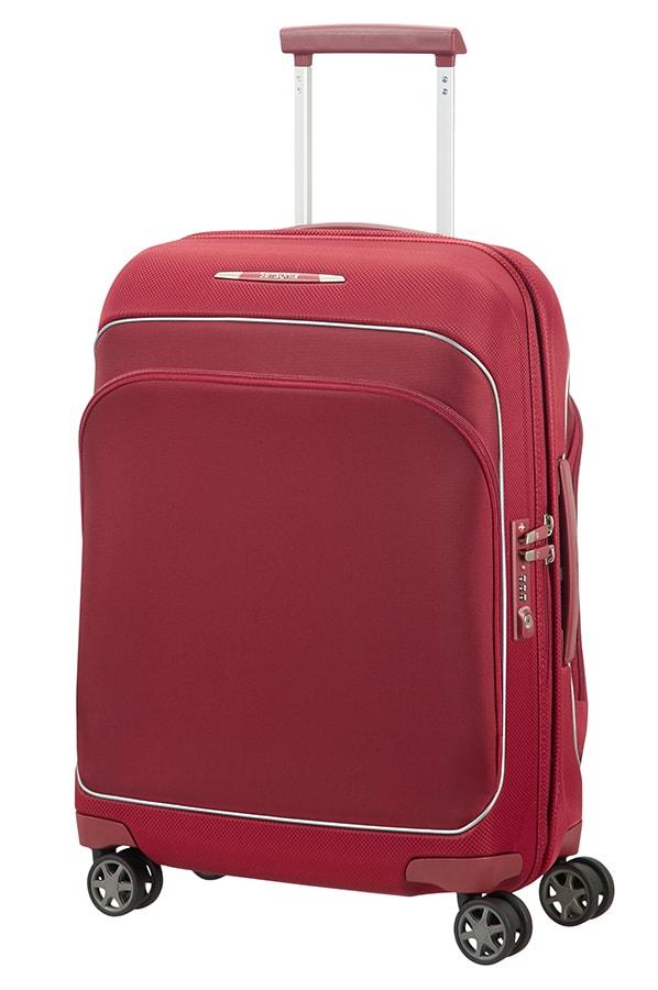 Samsonite Kabinový cestovní kufr Fuze 35 l - červená