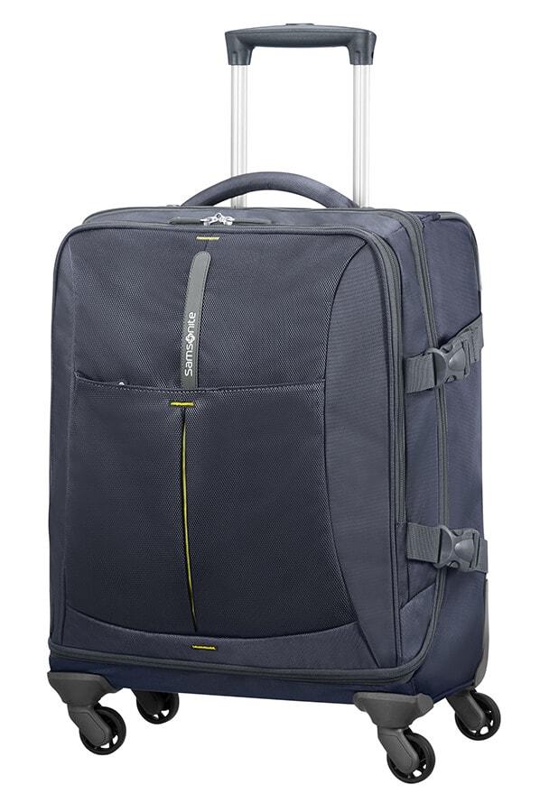 Samsonite Kabinový cestovní kufr 4Mation Spinner 37N 39 l - modrá