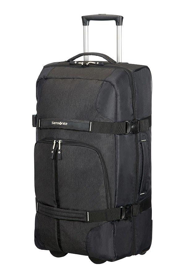 Samsonite Cestovní taška na kolečkách Rewind 72,5 l - černá
