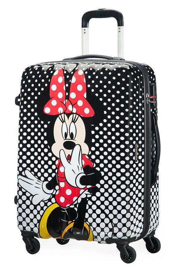 American Tourister Cestovní kufr Disney Legends Spinner 19C 62,5 l - Minnie Mouse Polka Dots