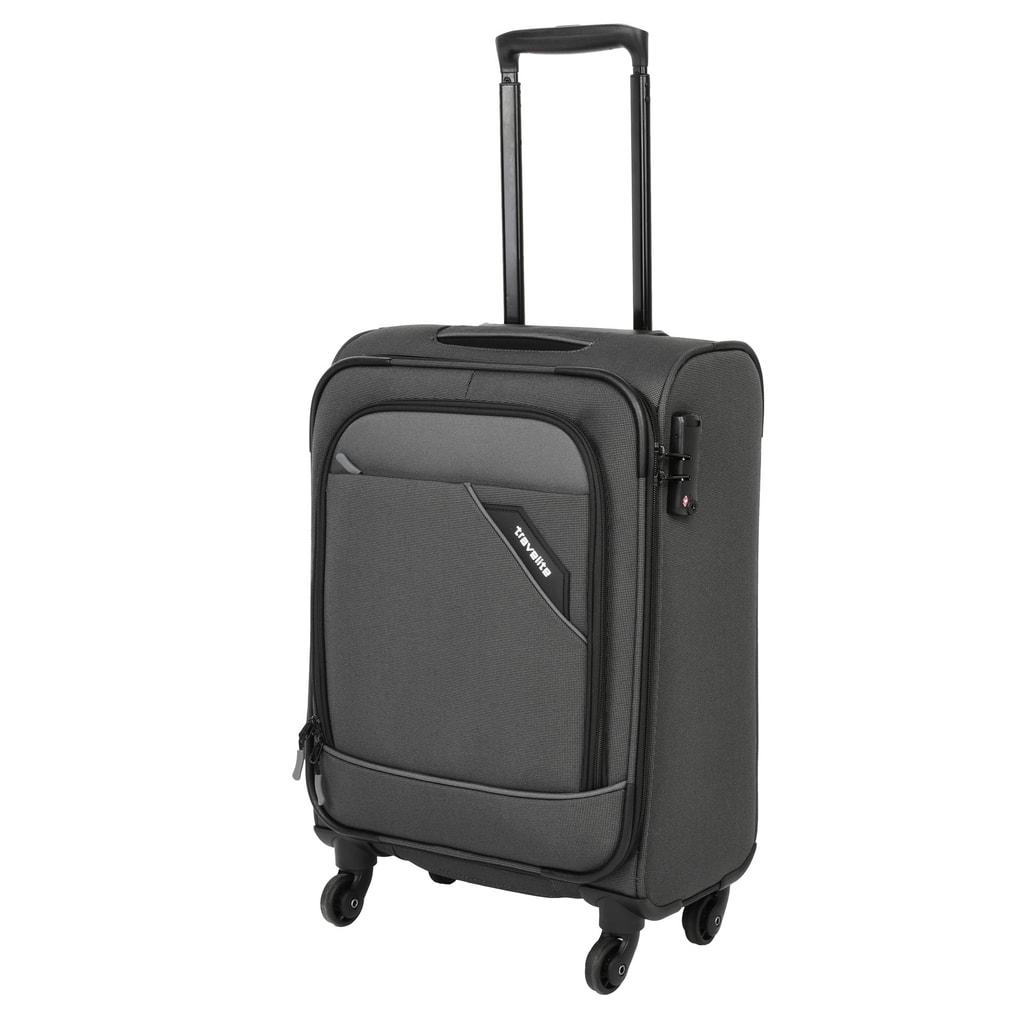 Travelite Kabinový cestovní kufr Derby 4w S Anthracite 41 l