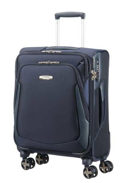 Samsonite Kabinový kufr X-Blade 3.0 Spinner Strict 38,5 l - modrá