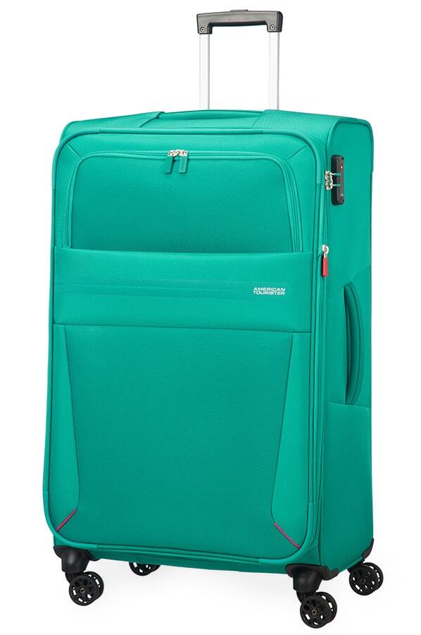 American Tourister Cestovní kufr Summer Voyager Spinner EXP 29G 112/123 l - zelená
