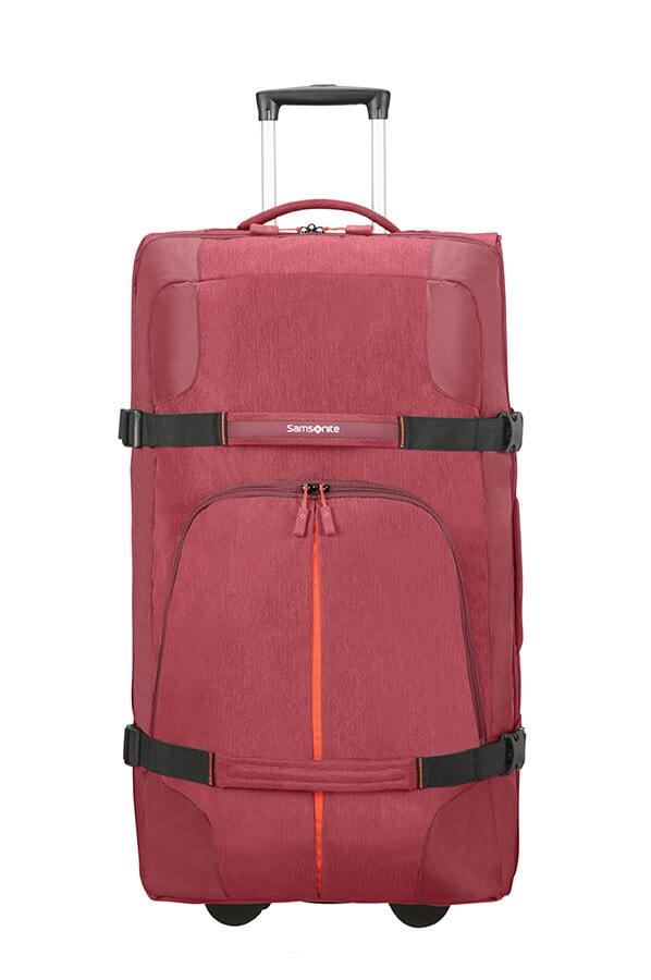 Samsonite Velká cestovní taška na kolečkách Rewind 113 l - červená