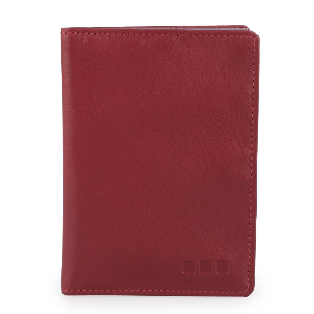 Maitre Kožené pouzdro na karty 4900000211 - červená
