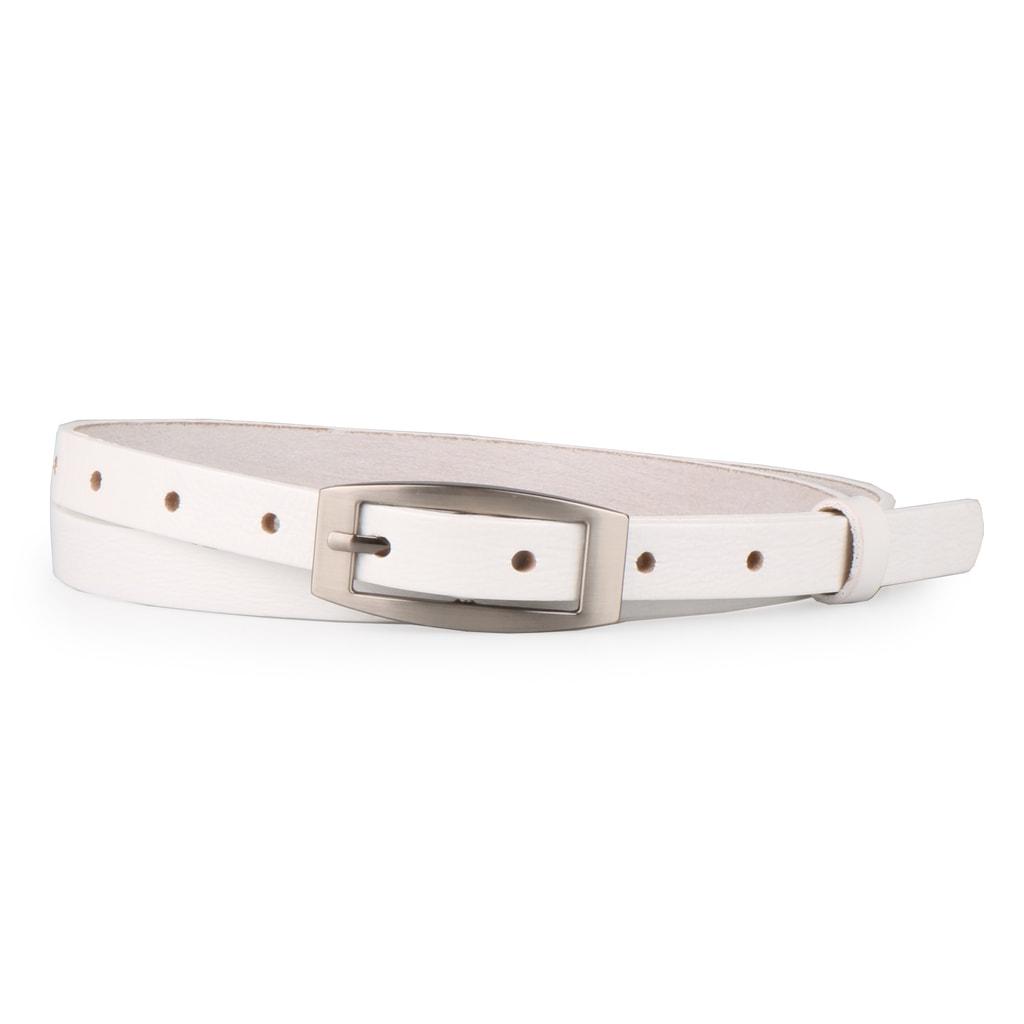 Penny Belts Dámský úzký kožený opasek 15200