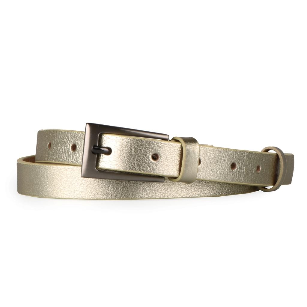 a50737f6f0e Penny Belts Dámský úzký kožený opasek 180 173 - 85
