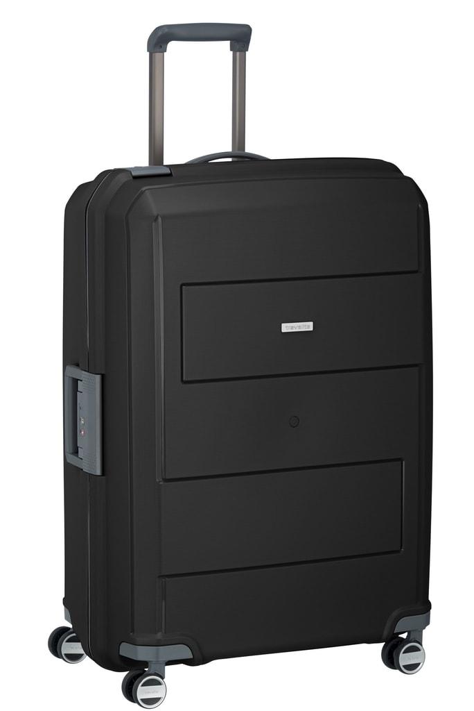 Travelite Cestovní kufr Makro 4w L Black 113 l