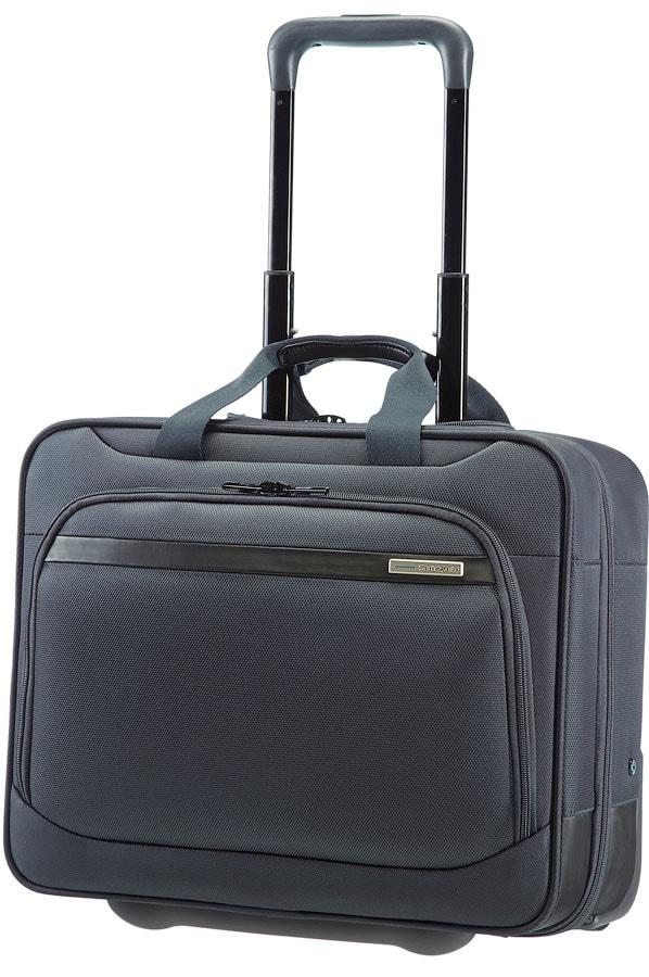 """Samsonite Kabinový kufr Vectura Office Case with Wheels 15.6"""" 39V-009 - šedá 39V-009-08-sam"""