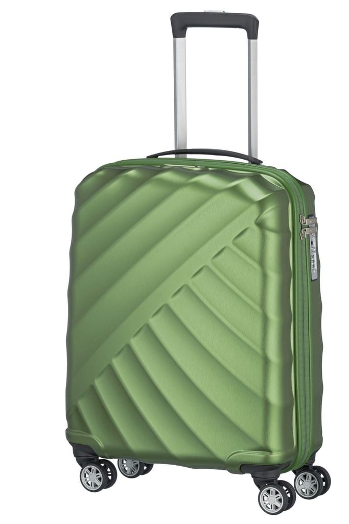 Titan Cestovní sada kufrů Shooting Star 4w S,M,L Green 828102-80