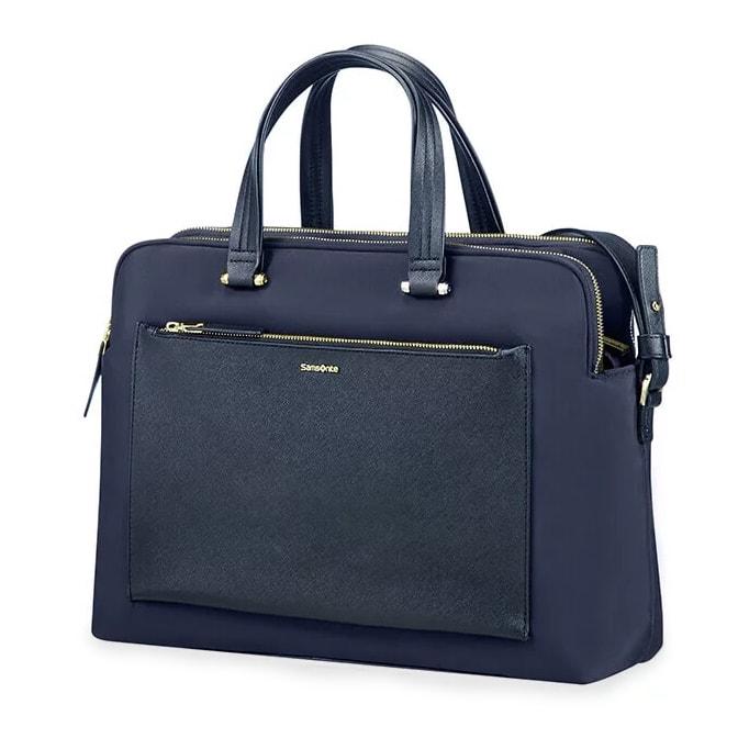"Samsonite Dámská taška na notebook Zalia 85D-004 14.1"" - tmavě modrá 85D*004-11"