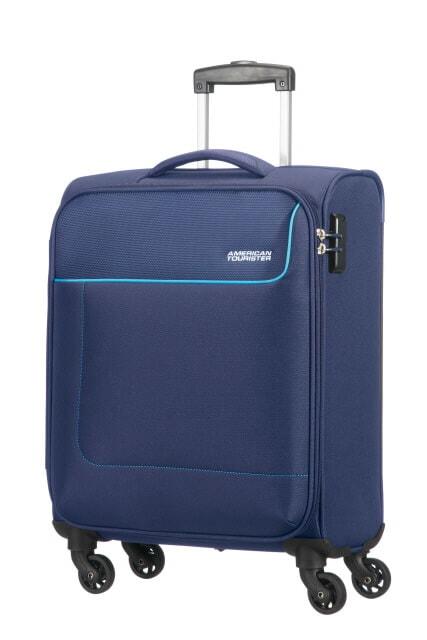 American Tourister Cestovní kabinový kufr Funshine 36 l - tmavě modrá