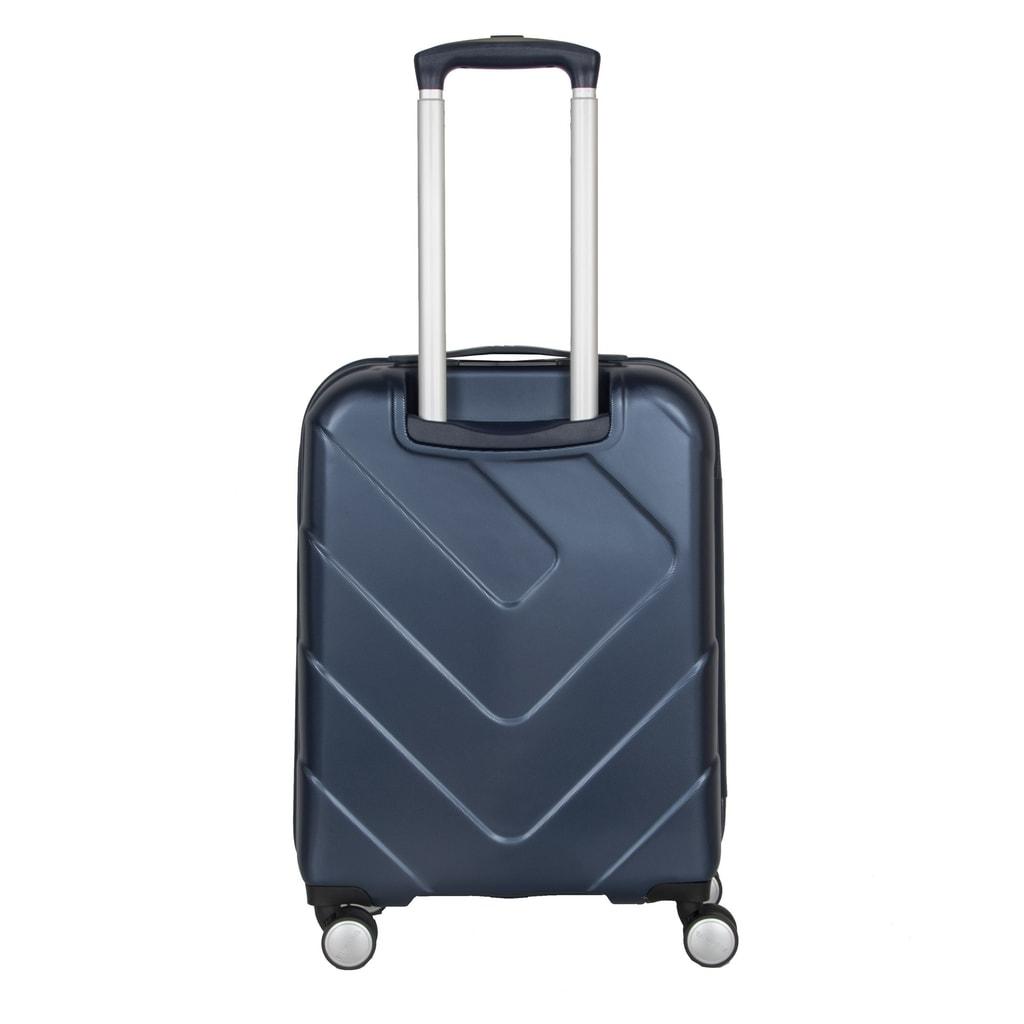 Kufor Travelite dopĺňa výsuvná hliníková rukoväť s aretačným tlačidlom na  madle. b5d240bfed6