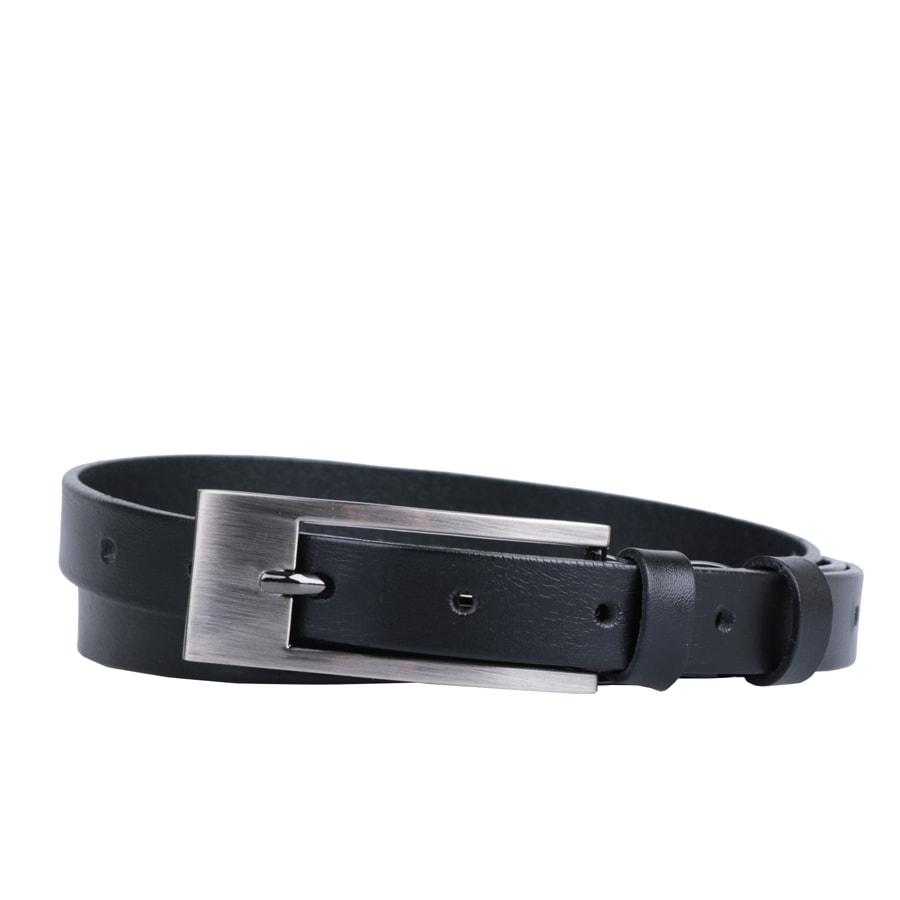 Penny Belts Dámský kožený opasek Penny Belts 17763 černý