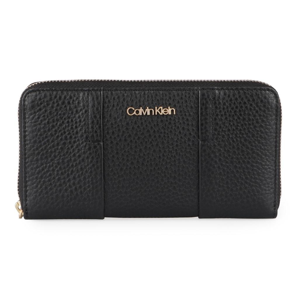 Calvin Klein Dámská kožená peněženka City Large K60K604494 - černá
