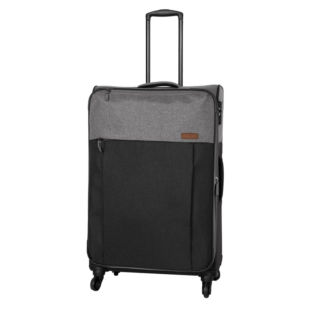 Travelite Velký cestovní kufr Neopak 92/105 l P38374 černá, šedá