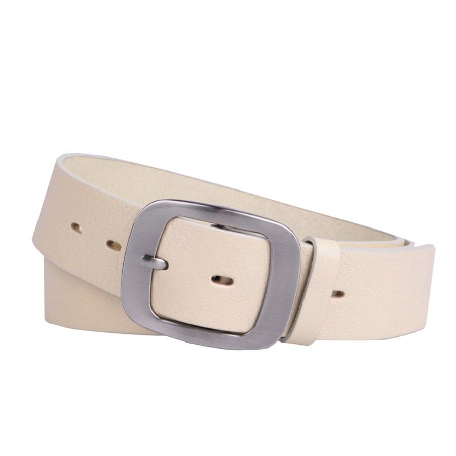 Penny Belts Dámský kožený opasek 9903 béžový