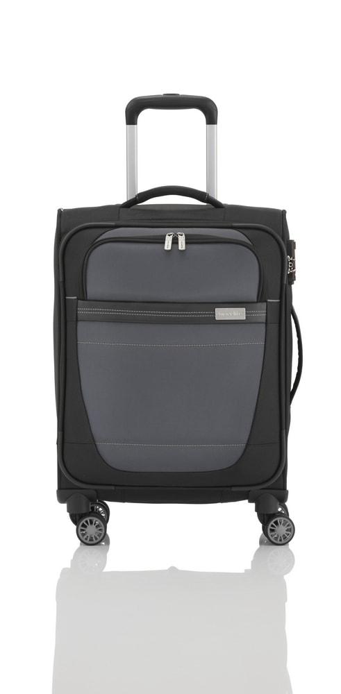Travelite Kabinový cestovní kufr Meteor 4w S Black 38 l
