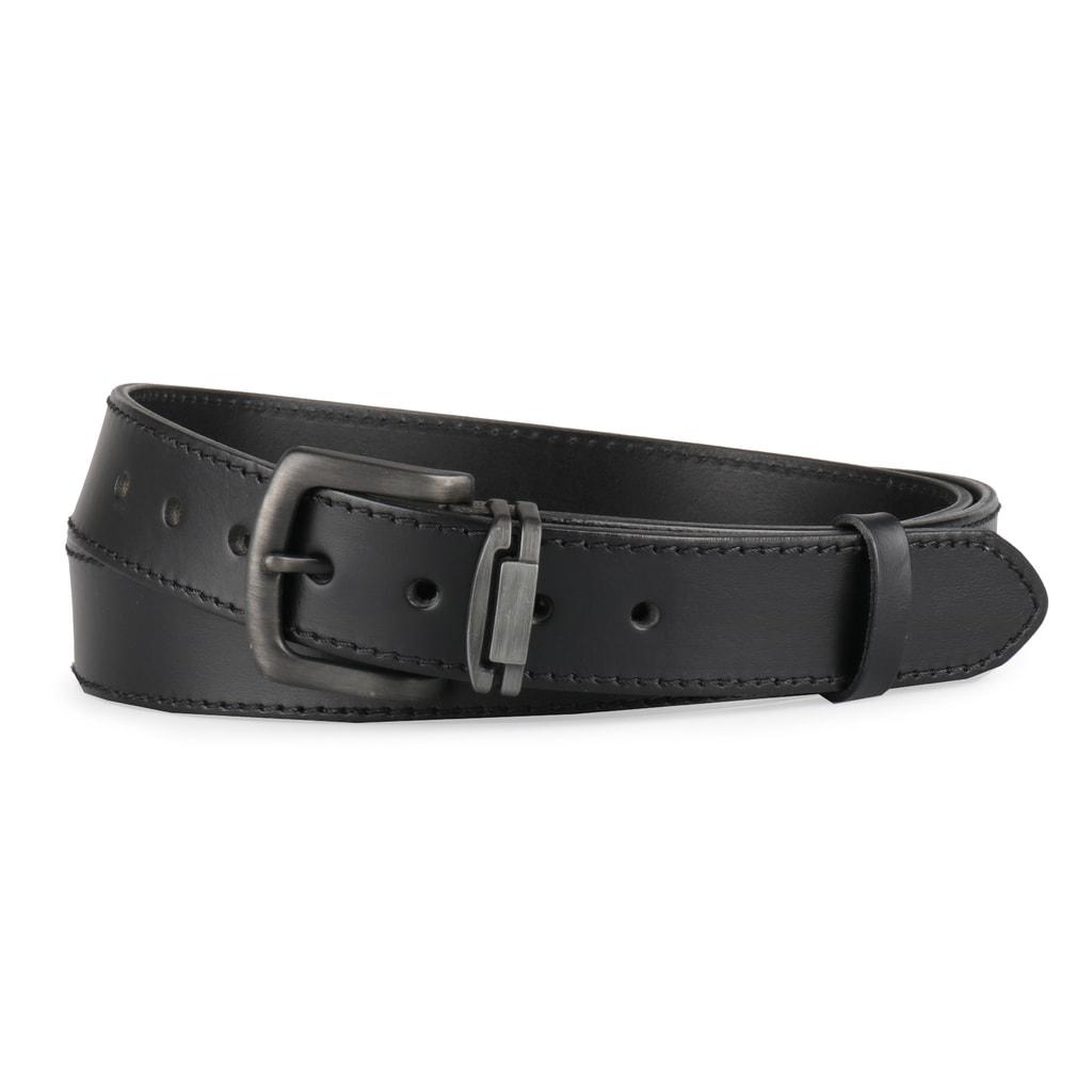1268a0becb7 Nadměrný pánský kožený opasek 9-1-60 černý - Penny Belts - Nadměrné ...