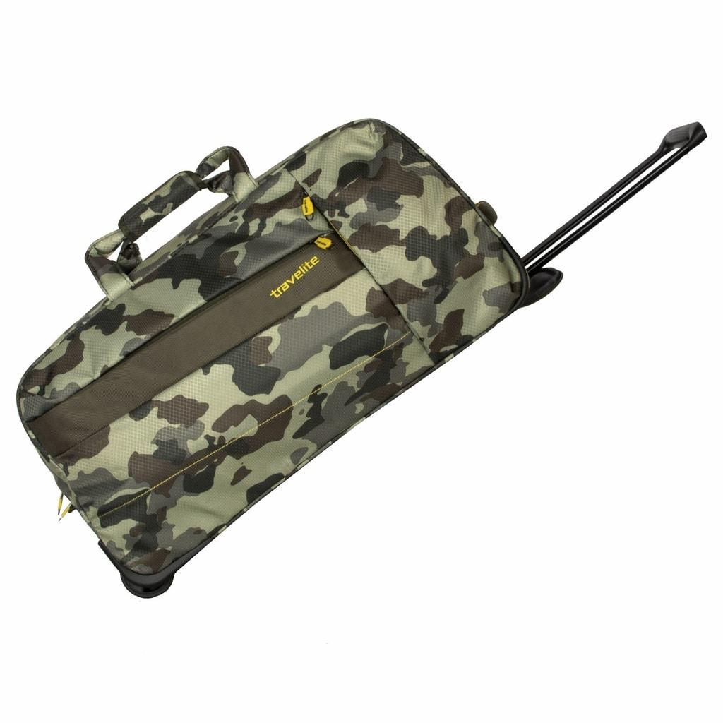 Travelite Cestovní taška 2w Travel Bag Camouflage 89901-86 69 l