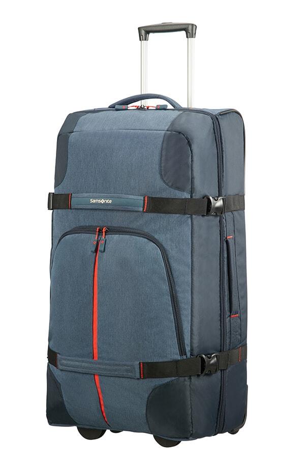 Samsonite Velká cestovní taška na kolečkách Rewind 113 l - modrá