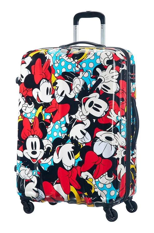 American Tourister Cestovní kufr Disney Legends Spinner 19C 88 l - Minnie Comics