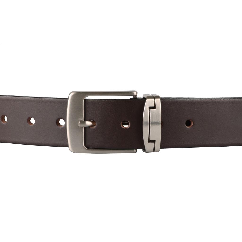 ddd22db861e Nadměrný pánský kožený opasek R1-1-40 hnědý - Penny Belts - Nadměrné ...