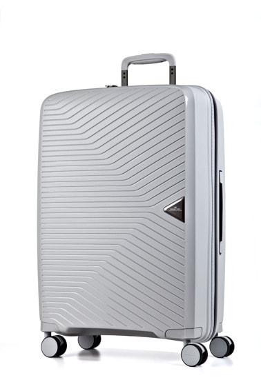 March Cestovní kufr Gotthard 70 l - stříbrná