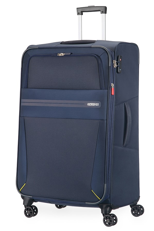 American Tourister Cestovní kufr Summer Voyager Spinner EXP 29G 112/123 l - tmavě modrá
